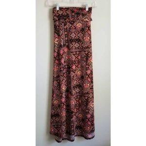 LuLaRoe Women's Midi Flare Skirt Sz 2XL black